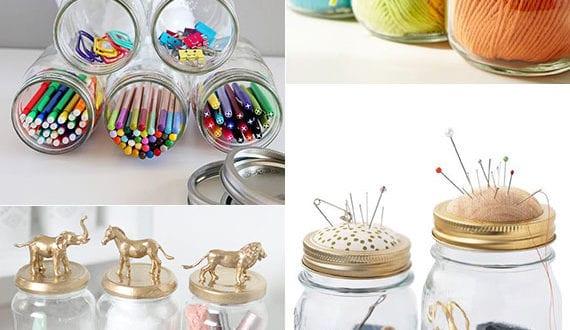Upcycling-Ideen-mit-Einmachgläsern-zum-Aufbewahren-und-Organisieren