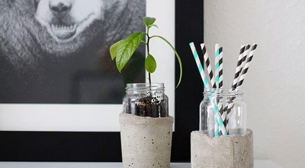 15 Upcycling-Ideen mit Einmachgläsern zum Basteln nützlicher Dinge