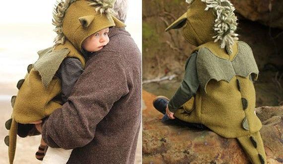 DIY-drachenkostüme-zu-halloween_interessante-vorschläge-für-erstes-baby-fachingskostüme