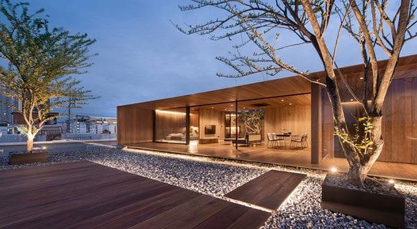 Wohnen auf dem Dach – modernes Rooftop Haus von WARchitect