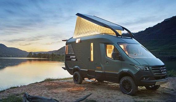 hymer-visionventure-wohnmobil-mit-schlafdach-aus-wabenstruktur-mit-luft,-akzentlicht-und-stromversorgung-durch-photovoltaik-anlage