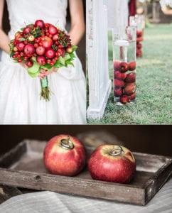 Hochzeit-in-einen-Herbstzauber-verwandeln-durch-die-attraktive-dekoration-mit-äpfeln