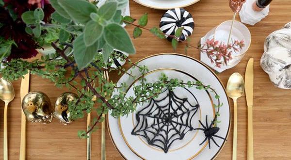 Bastelideen Halloween: raffinierte Deko für die gruselige Feier am 31. Oktober