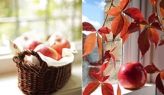 ein-echter-herbstzaueber_fantastische-herbstdeko-ideen-für-fenster-mit-roten-äpfeln