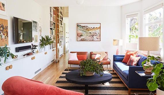 fantastische-gestaltungsideen-für-TV-Wand-im-Wohnzimmer