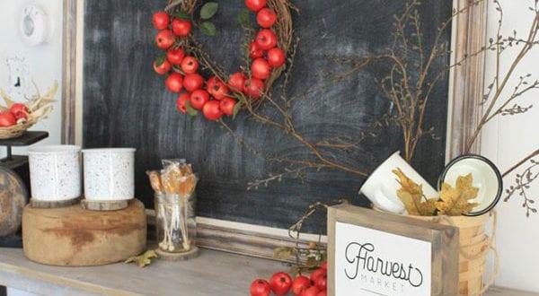 Herbstzauber: 60 stilvolle Herbstdeko Ideen mit Äpfeln