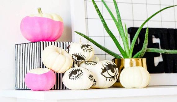 tolle-bastelideen-halloween-für-bunte-und-moderne-halloween-dekoration