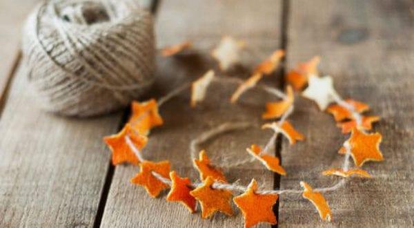 Coole Deko Ideen mit einer süßen Zitrusfrucht und herrlichem Orangenduft