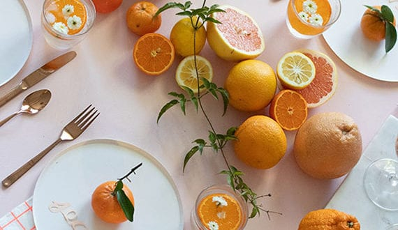 coole-deko-ideen-für-tisch-mit-zitrusfrüchten