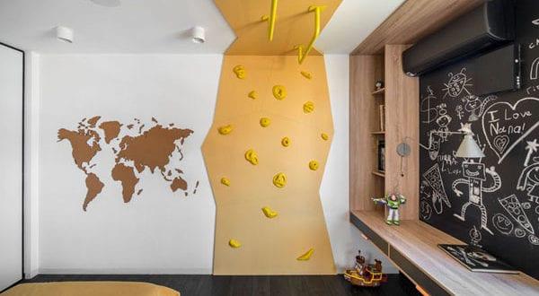 Coole Kinderzimmer Ideen und Designs für glückliche Kinder
