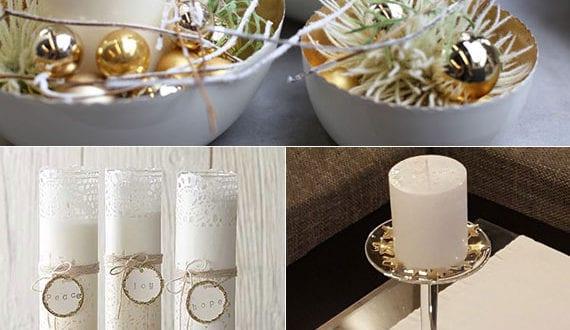 schicke-deko-mit-weihnachtskugeln-in-gold-und-weißen-kerzen