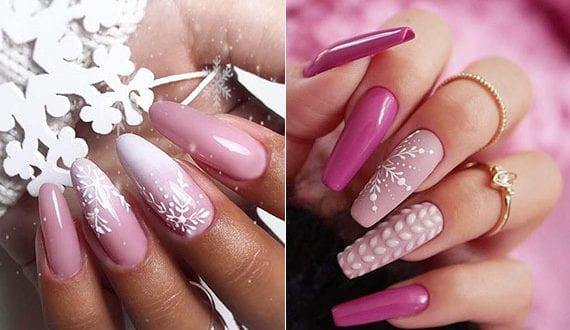 elegante-winter-gelnägel-in-pink