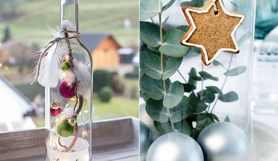 faszinierende-deko-mit-weihnachtskugeln-im-glas