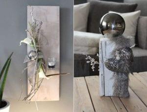 stilvolle-deko-mit-weihnachtskugeln-für-weihnachtliche-dekoration-von-tisch-und-wand