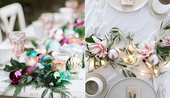 stimmungsvolle-deko-mit-weihnachtskugeln-und-pflanzen