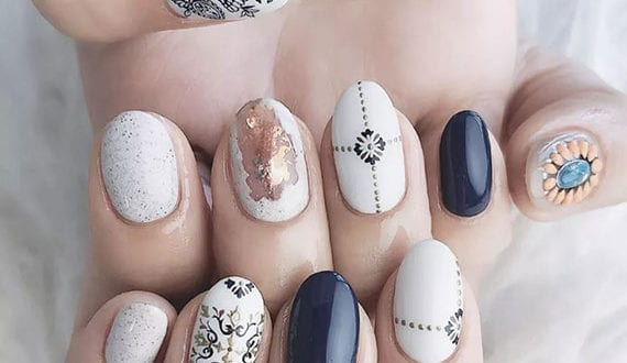boho-nageldesign-ideen-in-weiß
