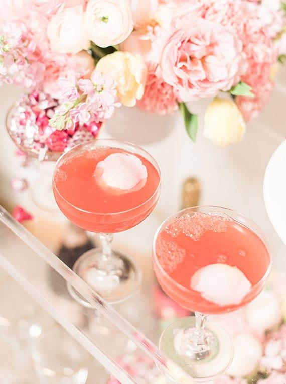 einfaches Mimosa Cocktailrezept mit Prosecco und frisch gepresstem Wassermelonensaft