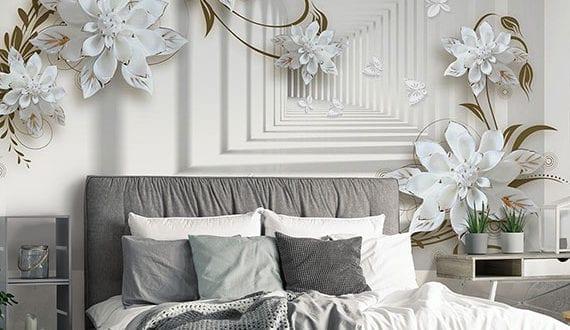 moderne-Wandgestaltung-mit-3d-Tapeten-im-Schlafbereich