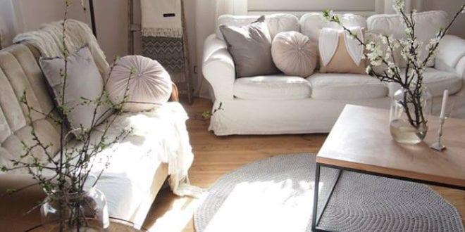 interessantes-interieur-design-in-skandinavischen-wohnstil-mit-boho-elementen-und-diy-möbeln