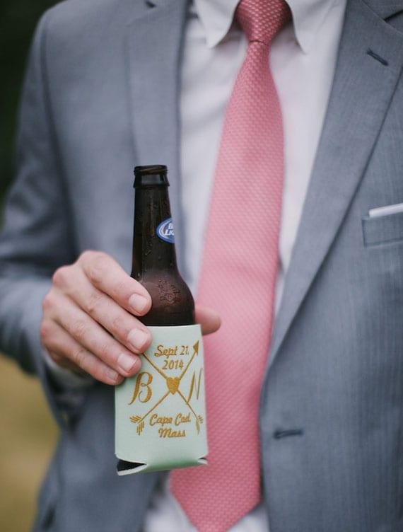 Bier- oder Getränkekühler als originelle hochzeit gastgeschenke