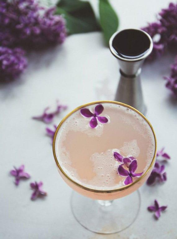 partyrezept für mixgetränke mit fliedergeschmack
