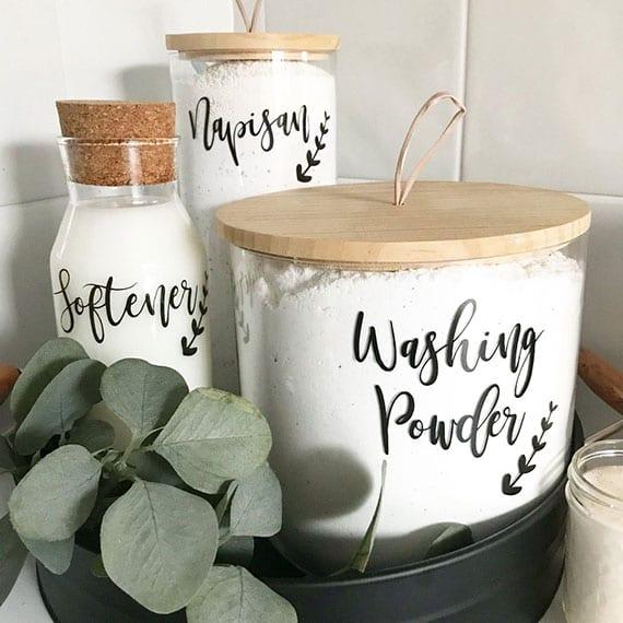 Wasch- und Reinigungsmittel mit einfachen Hausmitteln herstellen