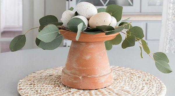 Wohnung und Garten mit Stil und fröhlicher Stimmung zum Ostern 2020 dekorieren