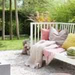 den garten in echte Sommeroase verwandeln mittels natürliche wege und terrassen aus kies