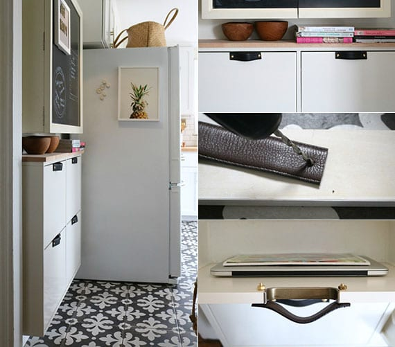 mehr stauraum in der kleinen küche schaffen mit einem schuhschrank