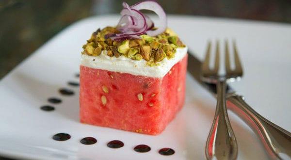 Melonensalat mit Feta und andere leckere Salatvariationen