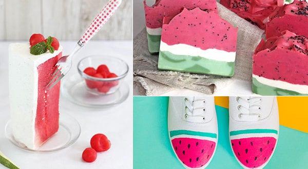 Wassermelone – Coole Sommer Bastelideen und Rezepte