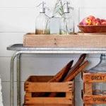 coole upcycling Ideen für mehr stauraum und eine vintage deko im wohnbereich
