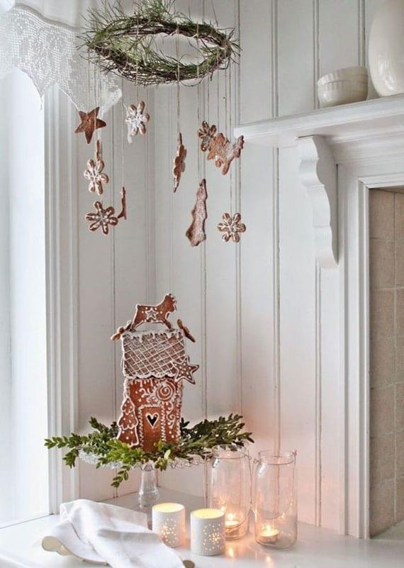 das ganze haus in weihnachtsstimmung setzen mit einer herrlich duftenden lebkuchen-dekoration