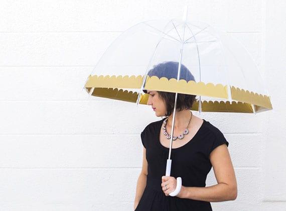 der regenschirm als modernes accessoire zum täglichen outfit