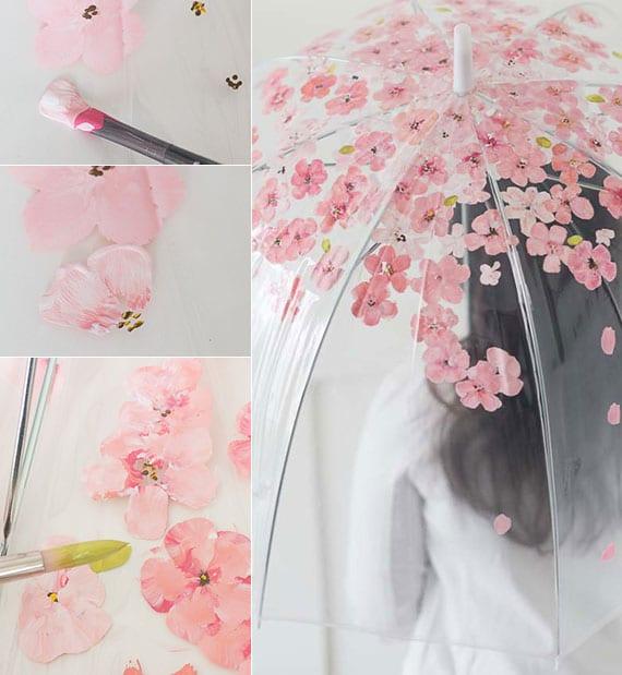diy sakura-regenschirm als cooles geschenk