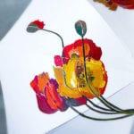 kreative bastelideen und einfache gestaltungsideen für einen diy regenschirm