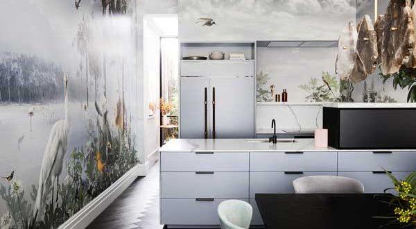 Fototapeten: die Küche gekonnt in Szene setzen