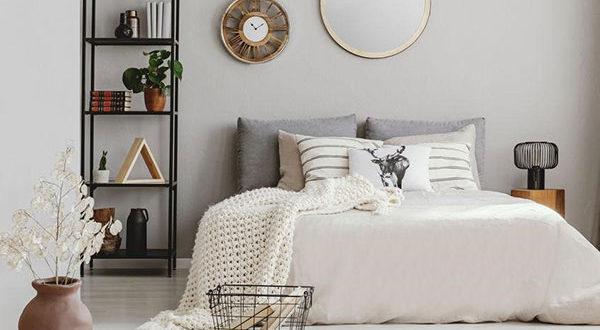 Schöne Farbgestaltung für ein besseres Schlafbefinden