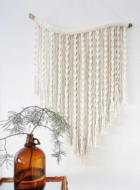 tolle wohndeko ideen zum selbermachen für eine besondere wandgestaltung und wohnliche atmosphäre im raum