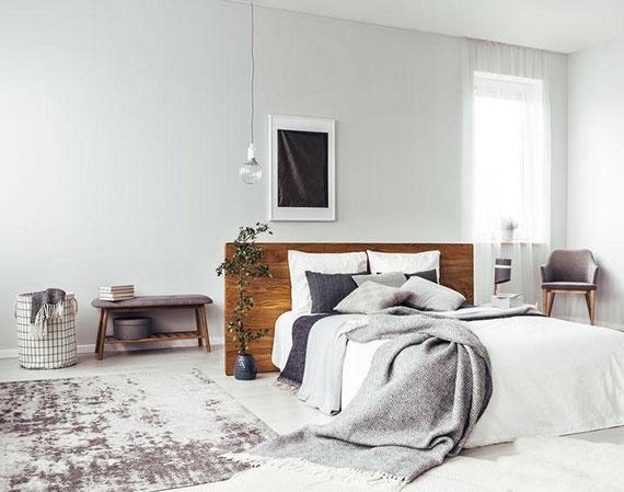 die Einrichtung des Schlafzimmers noch zusätzlich allergikerkonform gestalten