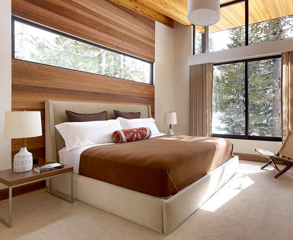 neue schlafzimmer trends für einladende Schlafzimmergestaltung als besonderer erholungsort durch den einsatz natürlicher materialien