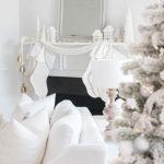 schöne deko und bastelideen für fröhliche winterdeko in weiß