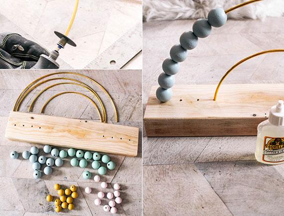 anleitung für diy regenbogen abakus_tolle inspiration aus den Ideen für selbstgemachte Geschnke für Kinder