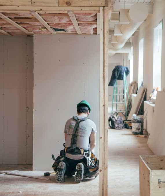 energetische haussanierung mit Dämmung der gesamten Gebäudehülle