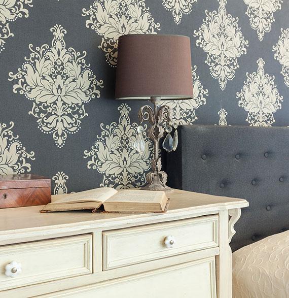 wände im schlafzimmer für allergiker lieber mit naturtapeten oder speziellen wandfarben gestalten