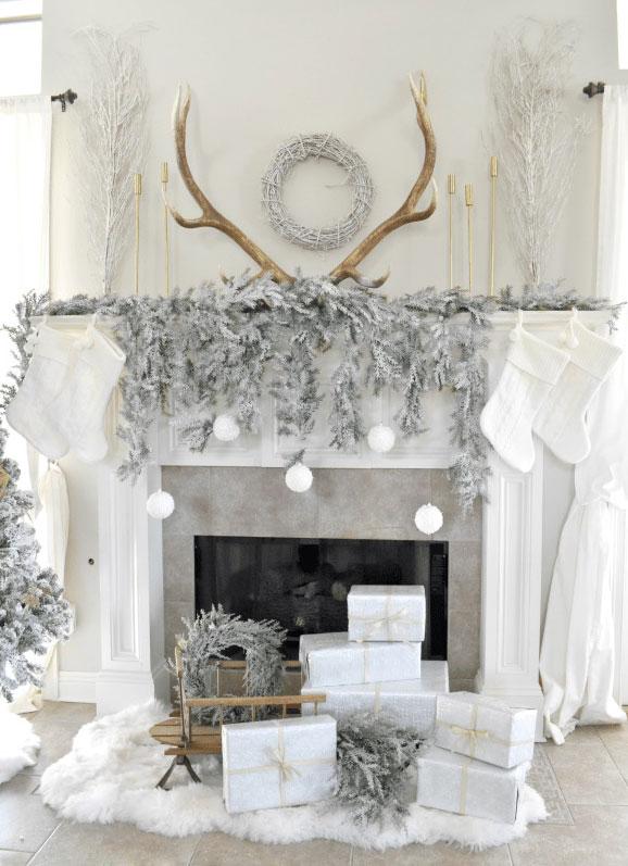 ohne schnee weiße weihnachten feiern_tolle gestaltungsideen für gemütliche weihnachtliche stimmung mit einer deko aus naturmaterialien