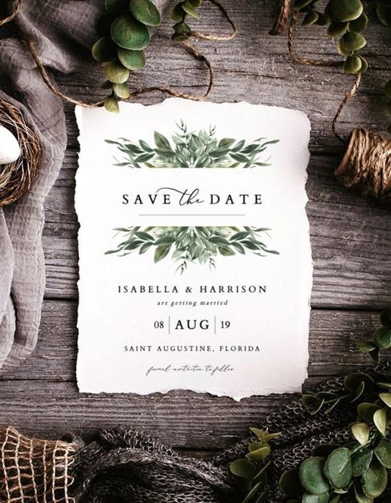 stilvolle hochzeitseinladungen als save the date karten selber gestalten