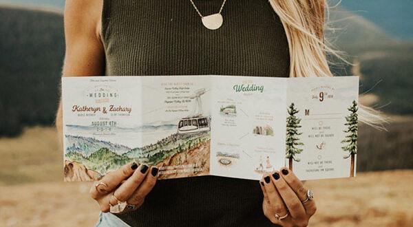 Hochzeitseinladungen: 9 stilvolle und attraktive Kartendesigns