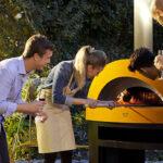 Pizza selber backen und eine Gartenparty gestalten