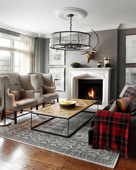ein Teppich im Wohnzimmer bereitet warme Füße sowie die gewisse Portion Gemütlichkeit